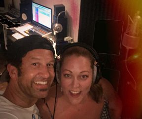 Recording with good friend & Amazing vocalist Anesha Rose!!