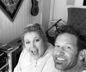 Studio time with amazing Songwriter & Friend, Kali J